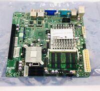 Supermicro X7SPE-H Moherboard Intel ICH9R D510 2 Core 1.66GHz 4GB RAM Flex ITX