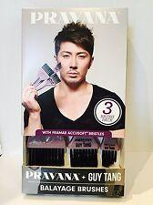 Pravana Pure Light Balayage Applicator Guy Tang 3 Brush Pack