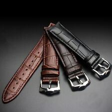 Universal Vintage Genuine Leather Wrist Watch Band Strap 12/14/16/18/20/22/24 mm