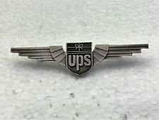 United Parcel Service (UPS) Old Logo Wings 1990's Silver color