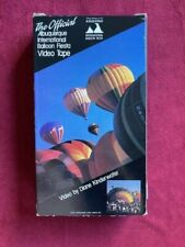 ALBUQUERQUE HOT AIR BALLOON FIESTA - VHS