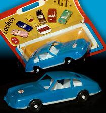 Porsche 911 T coupé * Comansi plastique voiture miniature 10,5 cm Neuf dans sa boîte blister précoce 70er