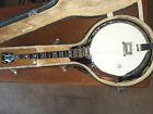 Washburn Americana B16 5-string Resonator Banjo - Tobacco Sunburst - HSC, strap for sale