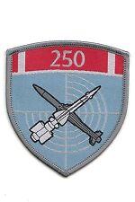 SERBIAN ARMY - 250th AD ROCKET BRIGADE SLEEVE PATCH FOR DRESS UNIFORM