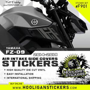 Yamaha FZ-09 air intake side cover sticker set [F901]
