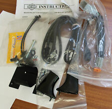 Harley XR1200 Black LED Turn Sigal Mounting Kit  69926-08 - G18