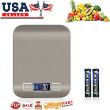 Digital Scale 5kg/10kg Kitchen Food Gram Scale Electronic Weight Pocket Size USA
