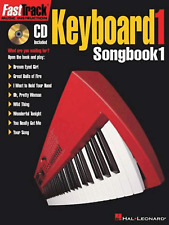 FAST TRACK KEYBOARD 1 SONGBOOK 1 Sheet Music Book & CD FastTrack Pop Rock Chart