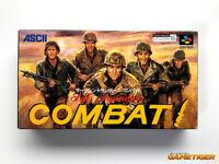 SGT SAUDERS COMBAT SFC Super Famicom Nintendo SNES JAPAN