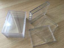5x 25 Karten 2 teilige Slider Box BCW? Sammelkarten Aufbewahrungsbox