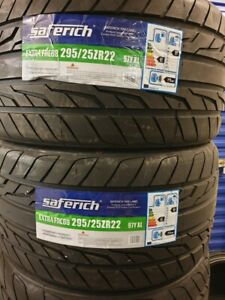 New Car Tyres Saferich Sport SUV/4X4 295/25/22 295 25 ZR22 XL 97Y 295 25 22 E+B