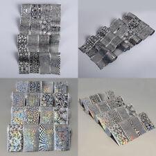 1 Set Sticker Autocollant Décor Ongle Nail Art Manucure Foil Glitter DIY Tips NF