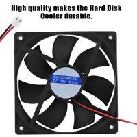 2Pcs Quiet 120x120x25mm 12V Computer/PC/CPU Silent Low Noise Cooling Case Fan XX