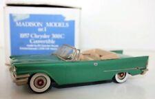 MADISON MODELS 1/43 Nr 1 - 1957 CHRYSLER 300C CONVERTIBLE - GREEN
