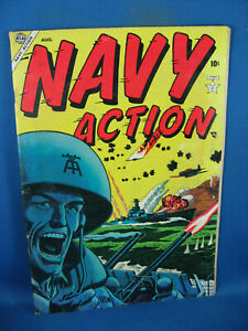 NAVY ACTION 1 F ATLAS WAR COMIC FIRST ISSUE 1954