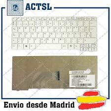 "Teclado Español ACER ASPIRE ONE Blanco 8.9"" A110 AOA150 A150 ZG5 9J.N9482.30S SP"