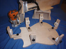 Blues Creek Guitars BINDING JIG  &CRADLE FOR ROUTING GUITAR & ROUTER INCLUDED