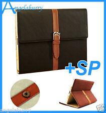 iPad 4 4th Ipad3 Ipad2 Stand Premium Wristband Smart PU Leather Pouch Case Cover