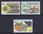 1987 COCOS ISLANDS MALAY INDUSTRIES SET OF 3 FINE MINT MNH/MUH