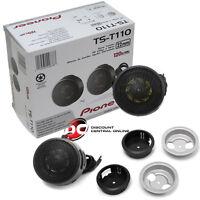 """PIONEER TS-T110 7/8"""" CAR AUDIO HARD DOME TWEETERS (PAIR)"""
