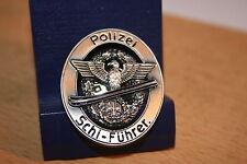 Pin Wehrmacht Polizei Schi Führer Abzeichen  Metall  Neu  309