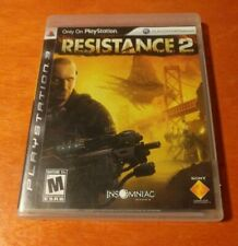 Resistance 2 PlayStation 3 PS3 Insomniac Games