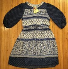 NWT Speechless Girls Size 16 Paisley Print Poet Sleeve Dress