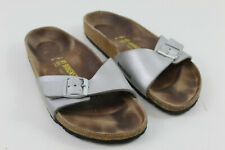 BIRKENSTOCK Silver Sandals size Eu 41