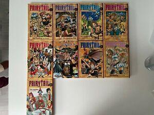 Fairy Tail Manga Volumes 1-10 (MISSING VOLUME 3)