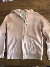 Women's Pink Jack Wills Zip Up Hoodie Size 10