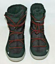 Ryka Alyssa Boots Size 7 .5 Black & Plaid Faux Fur Water-Repellant New
