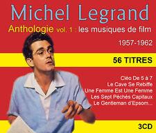 CD Michel Legrand - Anthologie Vol 1 : les musiques de film - Coffret 3 CD