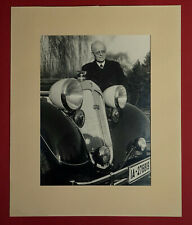 1941 HORCH August - AUDI-Gründer  - Großfoto + Autograph