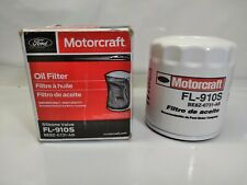 Motorcraft Professional Engine Oil Filter FL-910S BE8Z-6731-AB. Silicone Valve.
