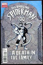 Marvel Comics! Amazing Spider-Man #700! Forth Print Variant! Near Mint- 9.2!