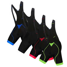 Men Cycling Shorts Tight Bicycle Ropa Ciclismo Bike 3D Padded Bib Shorts S-4XL