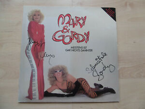 "Mary & Gordy Autogramme signed LP-Cover ""Meistens Ist Gar Nichts Dahinter"" Vinyl"