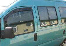 FIAT SCUDO 1996-2006  Front wind deflectors 2pc set Internal fit TINTED HEKO