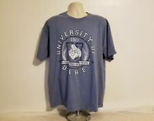 University of DARE to Resist Drugs and Violence 1983 Adult Blue XL T-Shirt