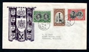 Canada - 1939 Royal Visit Illustrated First Day Cover