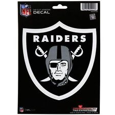"RICO NFL Oakland Raiders Color Die-Cut Window Decal Sticker 5 x 6"" NEW"