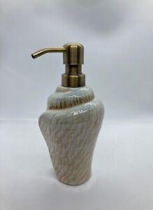 Seashell Murex Coastal Beach Hand Soap Dispenser Bathroom Decor Neutral