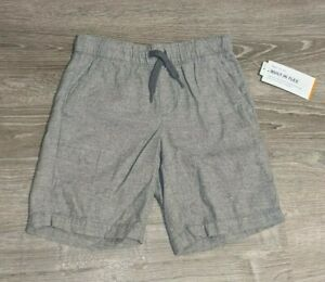 Old Navy Boys Built-In Flex Pull On Jogger Shorts Gray Size 6-7 8 10-12 NWT