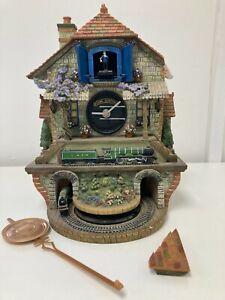 Bradford Editions Flying Scotsman Cuckoo Clock *Needs Repair* Working H11