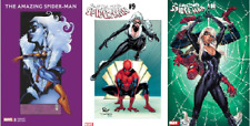 (2018) AMAZING SPIDER-MAN #8 9 10 J Scott Campbell Variant Cover Set