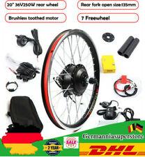"""20"""" 36v E-Bike conversion kit bicicleta eléctrica rueda trasera transformación frase 250w de"""