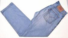 LEVI'S Mens 521 Jeans W30 L30 Blue Cotton Slim  F211