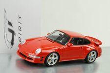 Porsche 911 (993) RUF Turbo Limité Rouge 1 18 Gt-spirit