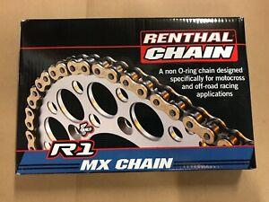 Renthal R1 Motorcycle Chain Motocross MX Enduro 520 x 118 Link KTM CRF KXF RMZ
