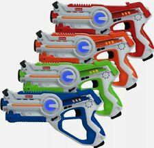 Kidzlane Laser Tag – Laser Tag Guns Set of 4 – Multi Function Lazer Tag Guns ...